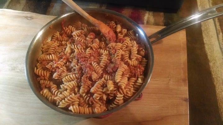 Bolognese Sauce and High Protein Pasta